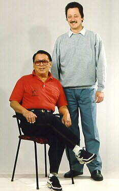 Sigung Wong Kiu en Sifu D. Wachtberger
