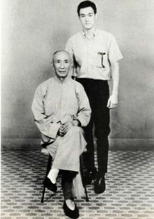Ip Man en zijn beroemdste leerling Bruce Lee